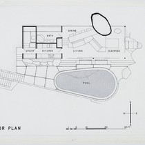Albert Frey: Frey House 2, plan