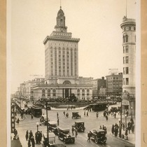 Oakland's new City Hall from 14th and Broadway in 1926