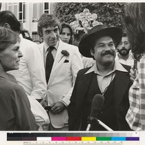 Alice McGrath, Gordon Davidson and Luis Valdez