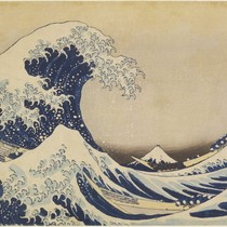 Fuji behind the waves off Kanagawa (The Great Wave), from Thirty-six Views ...