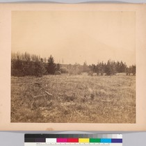 [Approach to the boundary pass, Rocky Mountains - left portion of three-part ...