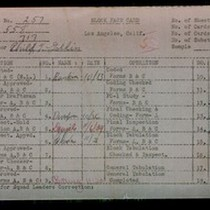 WPA block face card for household census (block 717) of Cimarron, Wilton ...