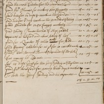 An account of money pd from May 1702 to May 1703: a ...