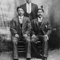 Portrait of George Encinas, Abel Navarro and Jesus Peralta [graphic]