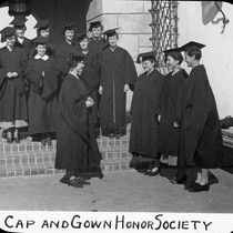 Cap and gown honor society / Lee Passmore