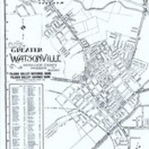 1949 Map of Greater Watsonville