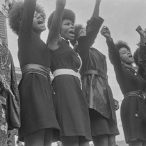 Black Panthers from Sacramento, Free Huey Rally, Bobby Hutton Memorial Park, Oakland, ...