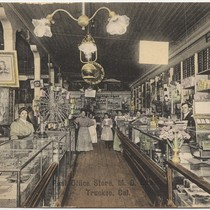 Post office store, M. D. Lewis Truckee, Cal.