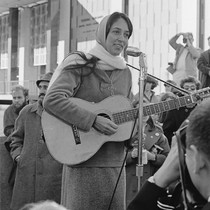 Joan Baez singing