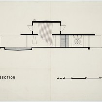 Albert Frey: Frey House 1 section