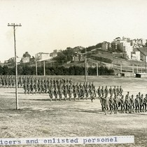 Officers and enlisted personnel