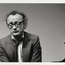 Photograph of Alfred Brendel, pianist/author