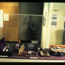 UCSF Origins of Excellence exhibit medicine kits and doctor bag display