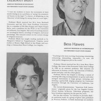 1967-1968 Faculty Awards, California State Colleges (Bluth and Hawes)
