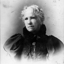 Catherine Benson Murray, second wife of Michael Murray, (c. 1900), photograph