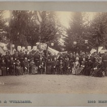 Camp Terrell National Guard Encampment, 1888