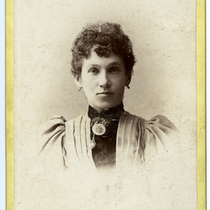Portrait of Mamie Axtell