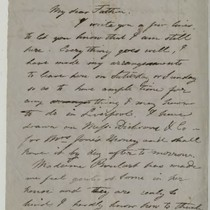 Correspondence between Conrad Wise Chapman and his family