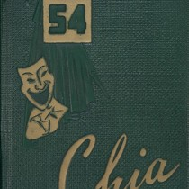 Chia, (Palm Springs, CA), 1954