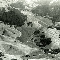 Aerial view of San Geronimo Valley, September, 1965 [photograph]