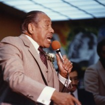 Cab Calloway Performs during African American Living Legends Program