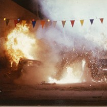 "Car crash stunt sequence from ""Bad Boys"" (5)"