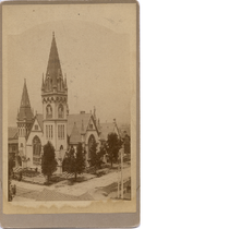 First Congregational Church, 13th and Clay Streets, c1885