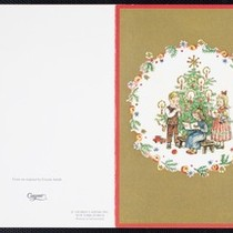 Christmas Card from C.T. Hsia to Eileen Chang, 1987
