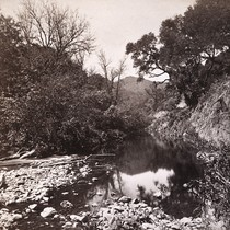 1. Scene on San Mateo Creek, San Mateo Co