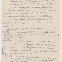 Allan [?] to Abner Doble, Jan 22 1953, page 1, Jan. 22, ...