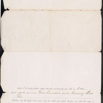 April 7, 1860 Legal Document