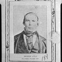 Andrew Lytle, December 23 or 25, 1812 - December 27, 1870