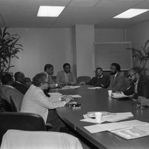 100 Black Men Meeting, Los Angeles, 1983