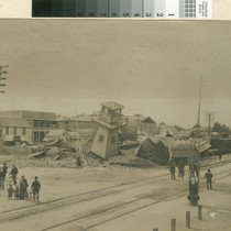 1906 Earthquake Damage to Southern Pacific Railroad Equipment