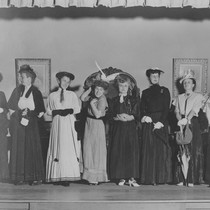 "Cast of ""The Bird on Nellie's Hat"", presented by the Minerva Club, ..."