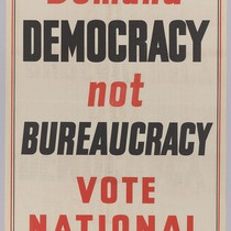 Demand Democracy Not Bureaucracy: Vote National