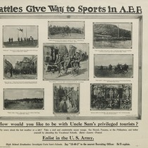 Battles Give Way to Sport in A.E.F.: Enlist in the U.S. Army