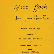 1964-1965 year book Fannie Jackson Coppin Club