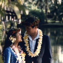 Portrait of Vince and Patricia Whiting in Hawaii