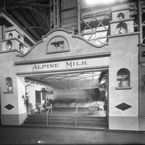 Alpine Milk Company's exhibit