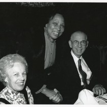 Bernice Pitts with Kenneth and Ramona Hahn