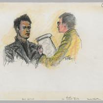 7/2/71 Huey Newton, District Attorney Donald Whyte