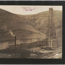 Alameda County oil wells of the Atlantic and Western Oil Co. photograph ...