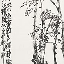 Branch of Blossoming Plum 1920