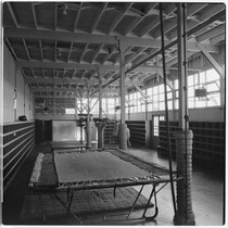 Camp Matthews, Gymnasium, (interior), Building No.352