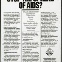 Do Condoms Stop the Spread of AIDS?