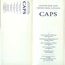 CAPS informational pamphlet