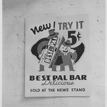 Advertisement for a Best Pal Bar, ca. 1940