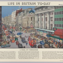 Life in Britain To-day [city scene]