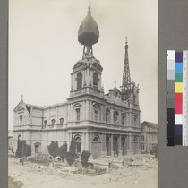 [Ruins of St. Dominic's Church. Bush and Steiner Streets.]